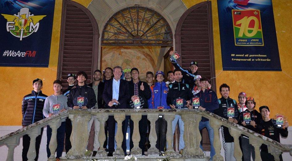 News: Il CIV festeggia i primi 10 anni con Rossi e i talenti italiani