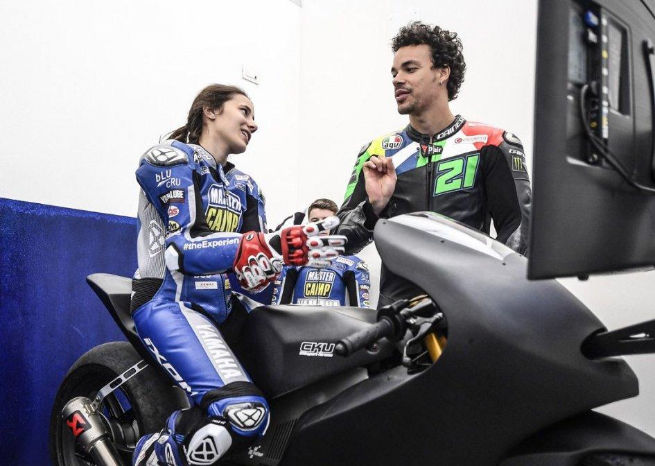 4b751560b0918 News, Neila Beatriz, first woman in Valentino Rossi's school | GPone.com