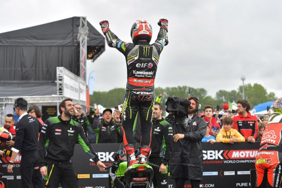 """SBK: Rea: """"I won because at Imola the rider makes the difference"""""""