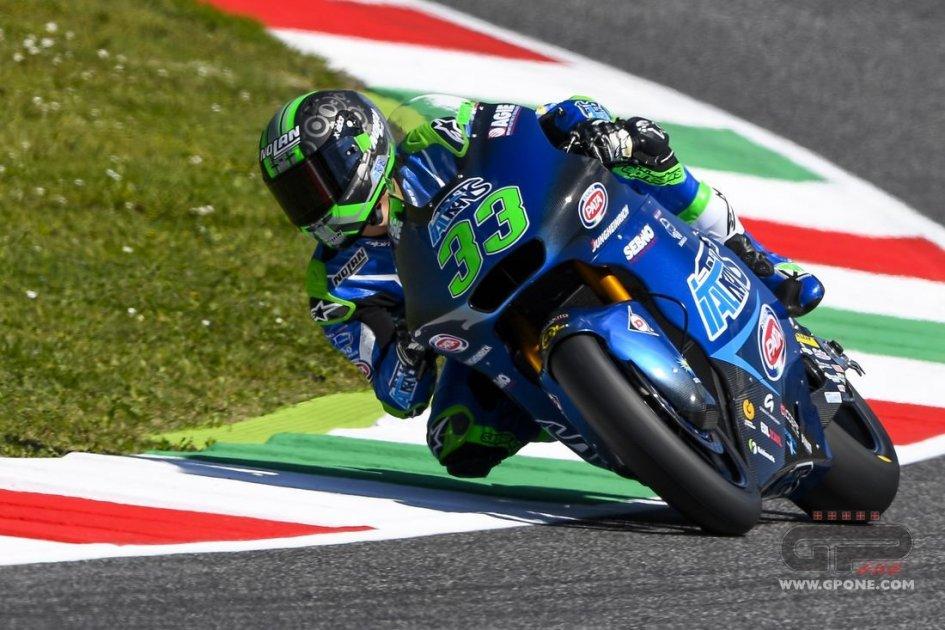 Moto2: Bastianini infiamma il Mugello, è primo nel Warm Up