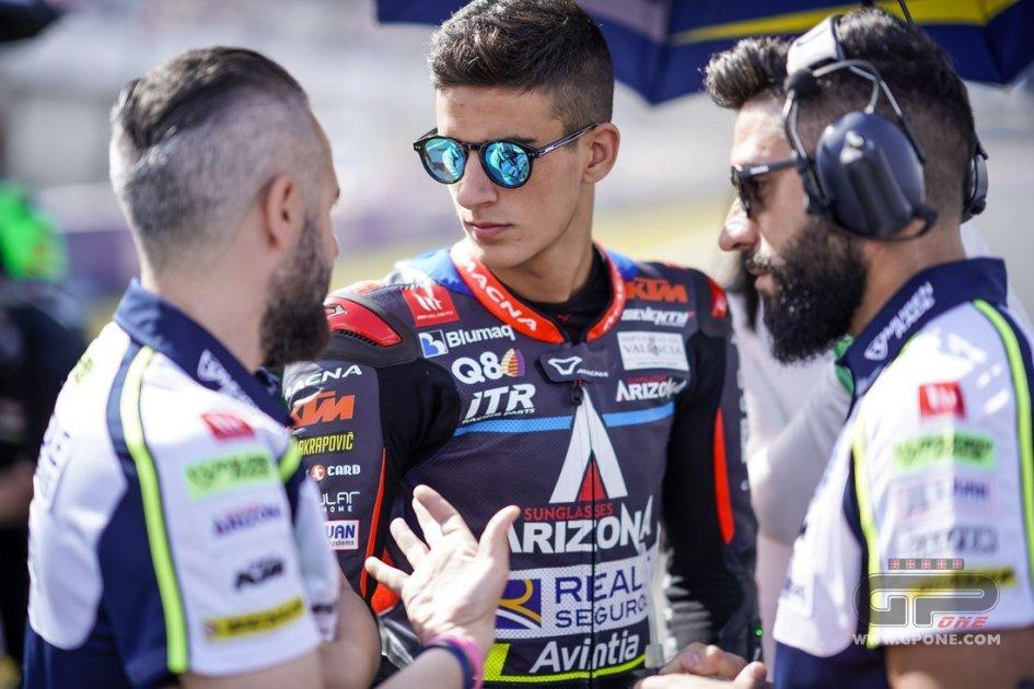 Moto3: Divorzio consensuale tra il team Avintia e Perez