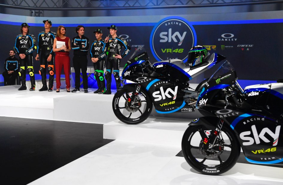 Moto3: Sky and Rossi, dress rehearsal for a divorce