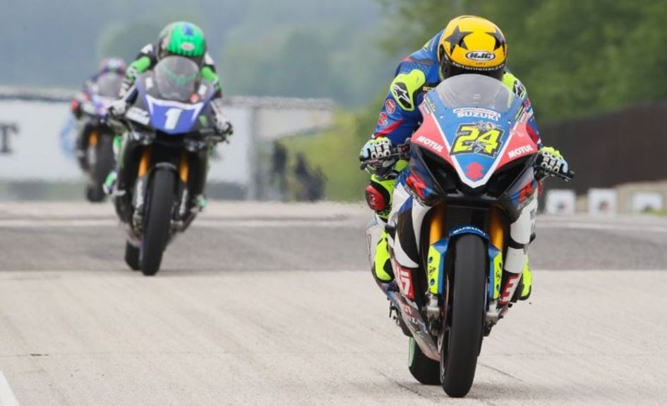 MotoAmerica: Elias wins, ties Ben Spies and dedicates the victory to Luis Salom