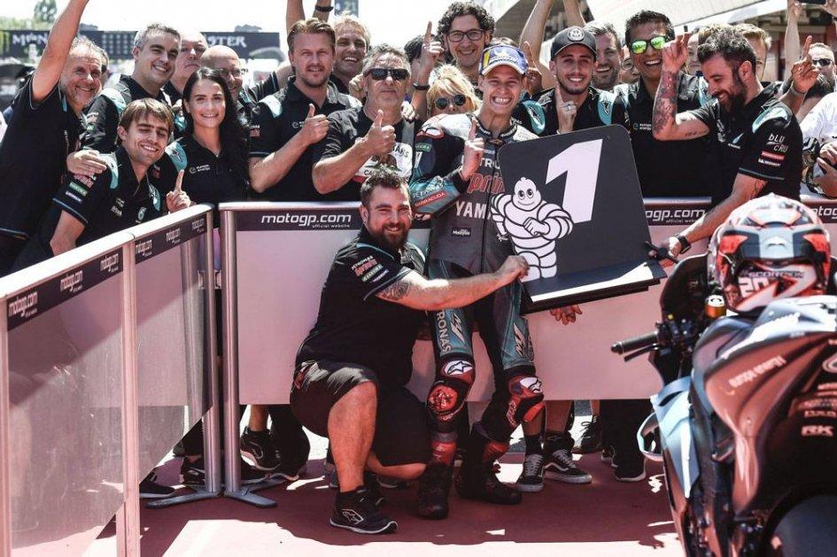"""MotoGP: Quartararo: """"Non voglio battere Marquez, ma imparare da lui"""""""