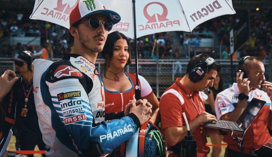 """MotoGP: Bagnaia: """"Per migliorare sulla Ducati studio i dati di Lorenzo"""""""