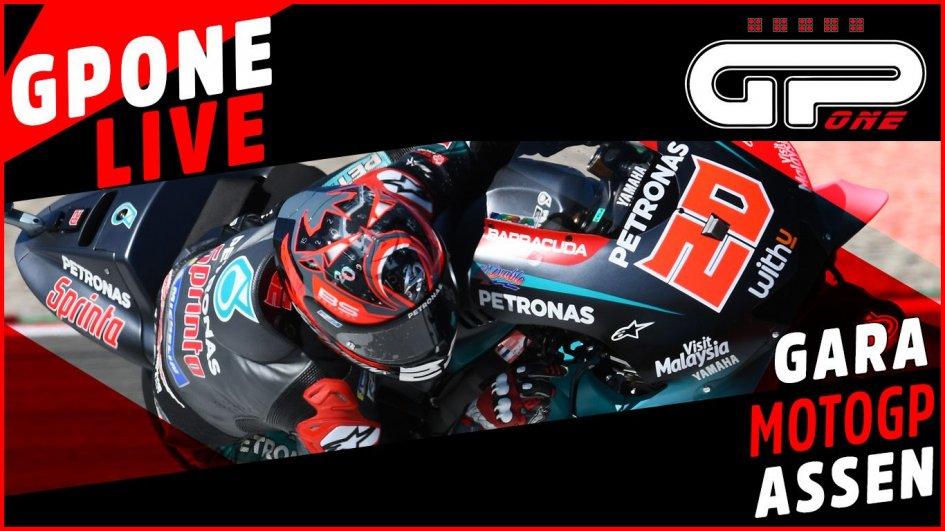 MotoGP: Assen: cronaca diretta LIVE del Gran Premio d'Olanda, vittoria Vinales