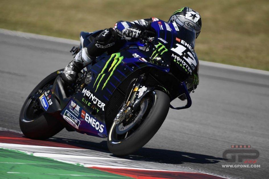 MotoGP: Riscossa Yamaha nei test: 1° Vinales, 2° Morbidelli, 14° Rossi