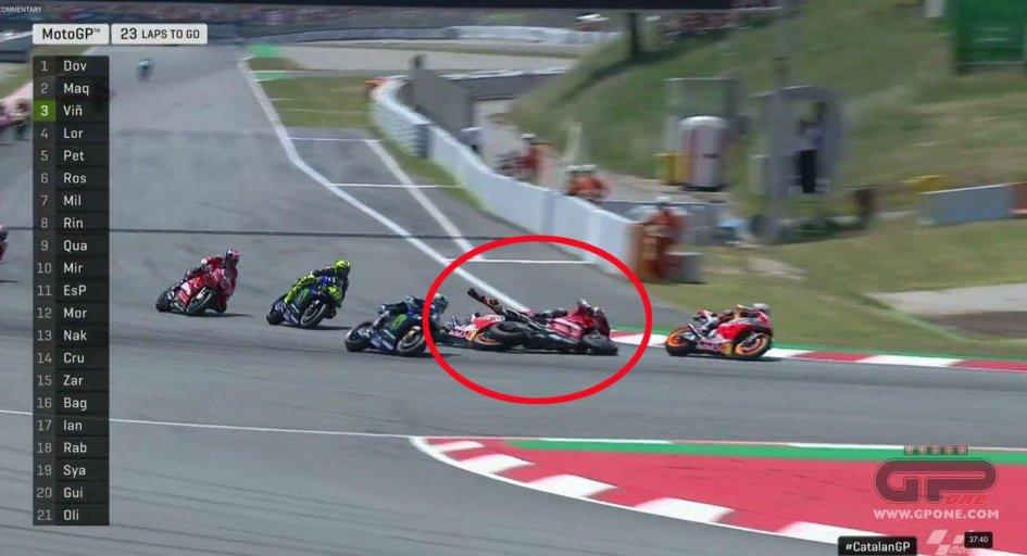"""MotoGP: Lorenzo: """"Ho sbagliato, avrei preferito cadere solo io"""""""