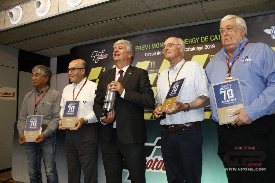 MotoGP: La FIM festeggia i 70 anni rendendo onore a Luigi Brenni