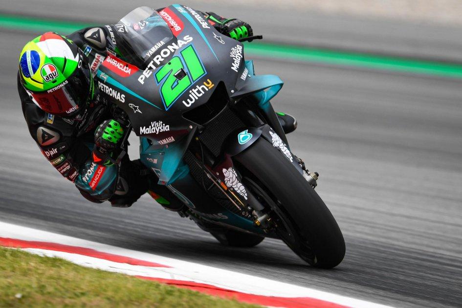 """MotoGP: Morbidelli: """"Sono caduto a 192 Km/h, ma sono felice"""""""