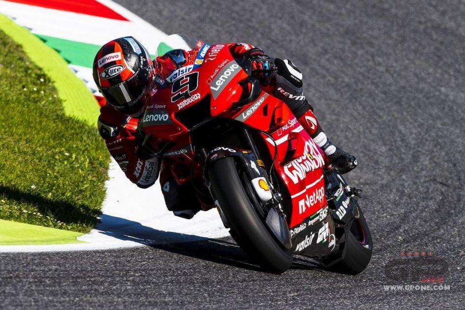 MotoGP: FP3: Petrucci da record al Mugello, Dovizioso e Rossi in Q1