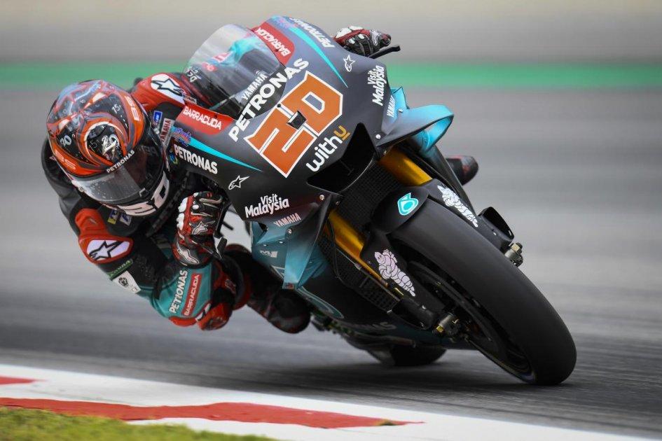 MotoGP: FP2: Quartararo mattatore a Barcellona, 2° Dovizioso