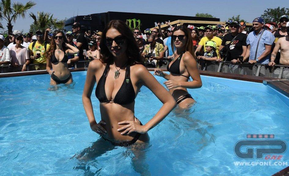 MotoGP: Monster Girls warm up Barcelona