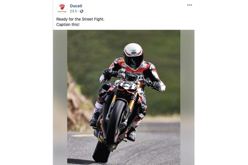 """News Prodotto: Ducati risponde a MV Agusta: """"Pronti alla rissa. Rispondete a questo!"""""""