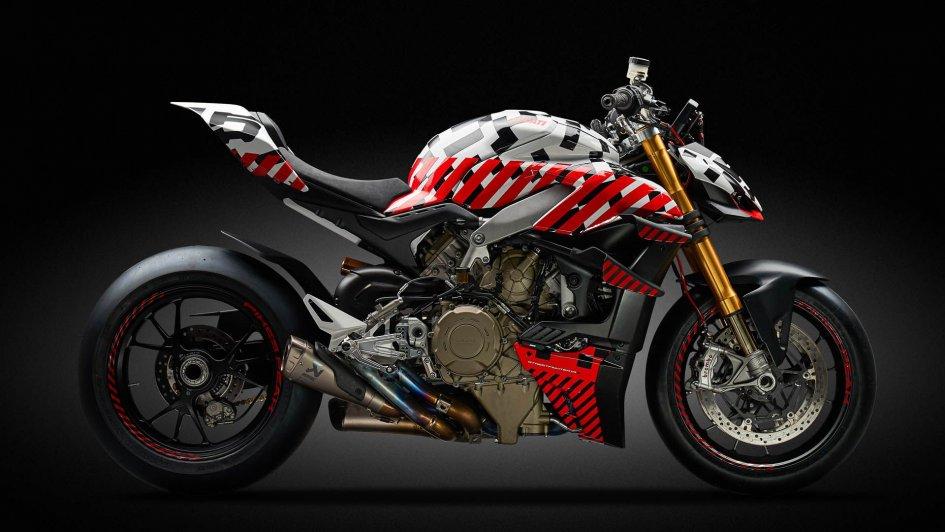 News Prodotto: Ducati svela il prototipo Streetfighter V4