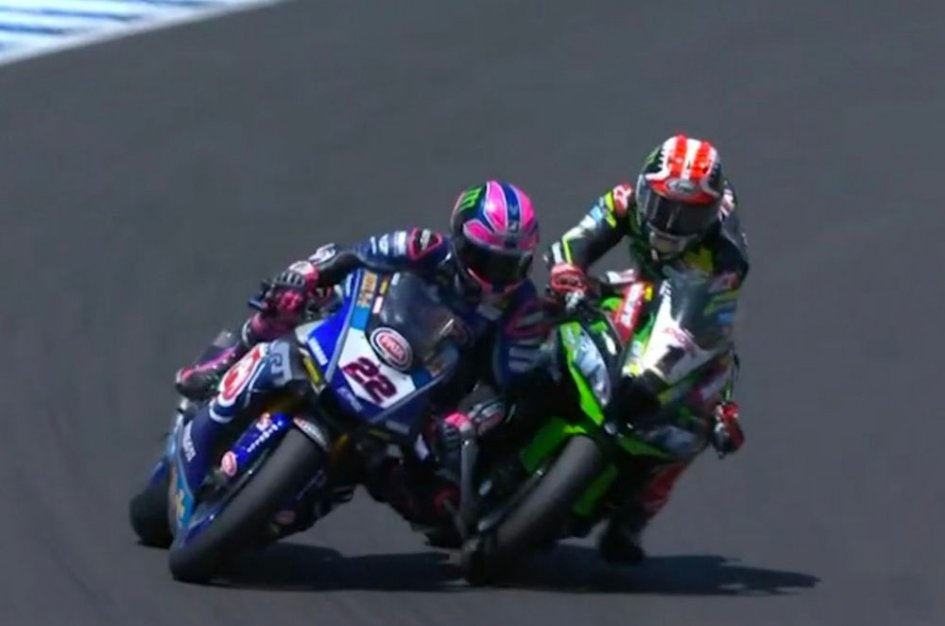 """SBK: Rea: """"Sorry, Lowes, but it was a racing accident"""""""