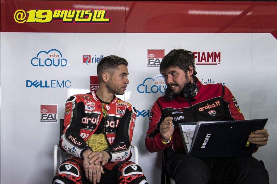 """SBK: Nava: """"Il segreto di Bautista? Guida la Ducati come una 250"""""""