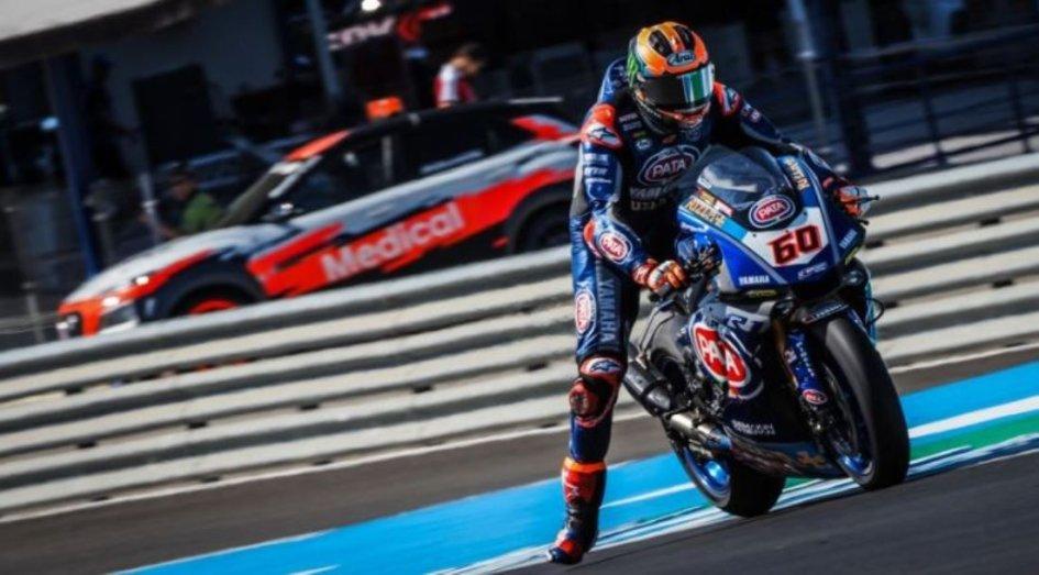 """SBK: Van Der Mark: """"All'ultima curva di Jerez ne succedono di tutti i colori"""""""
