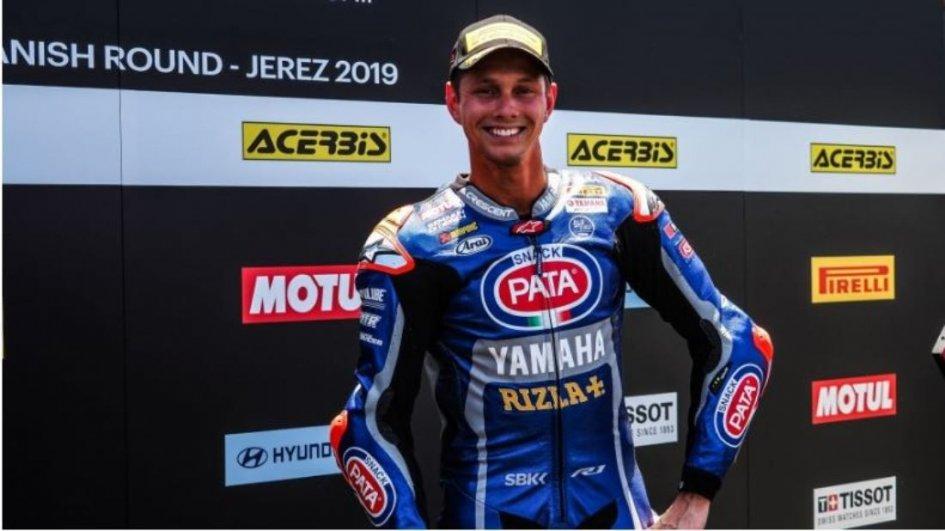 """SBK: Van Der Mark: """"My Yamaha was unparalleled in Jerez"""""""