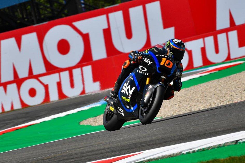 """Moto2: Marini: """"Per la prima volta quest'anno ho avuto un po' di fortuna"""""""