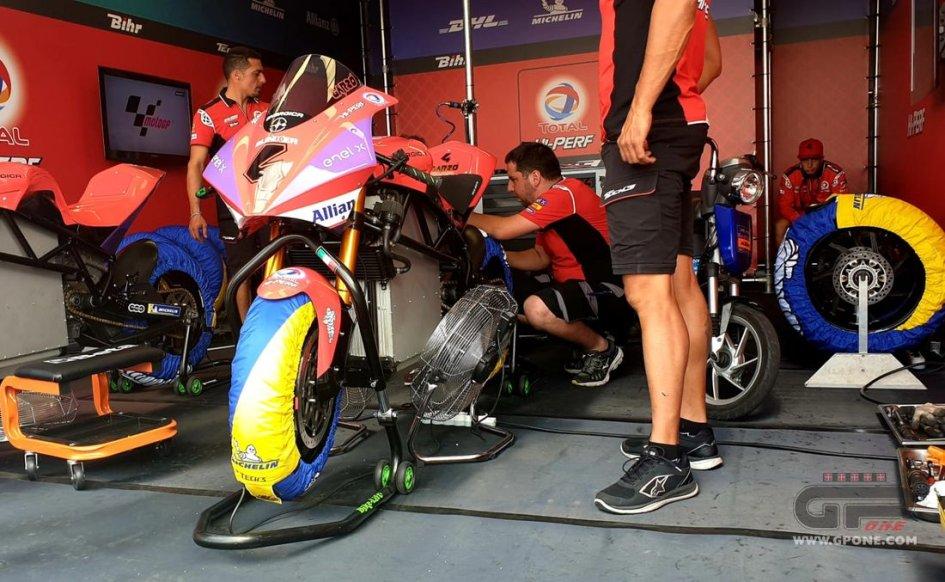MotoE: La MotoE nella 'centrifuga' della MotoGP