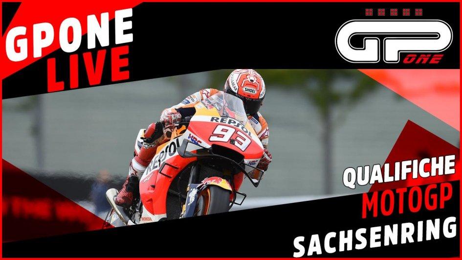 MotoGP: Sachsenring, LIVE qualifiche: decima pole in Germania per Marquez