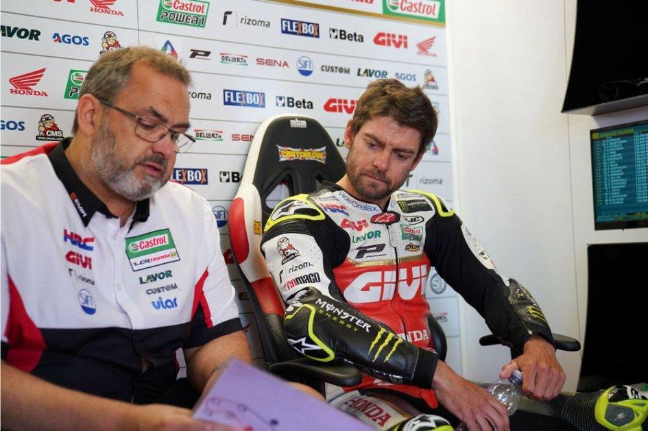 MotoGP: Sachsenring in forse per Crutchlow: frattura a una tibia