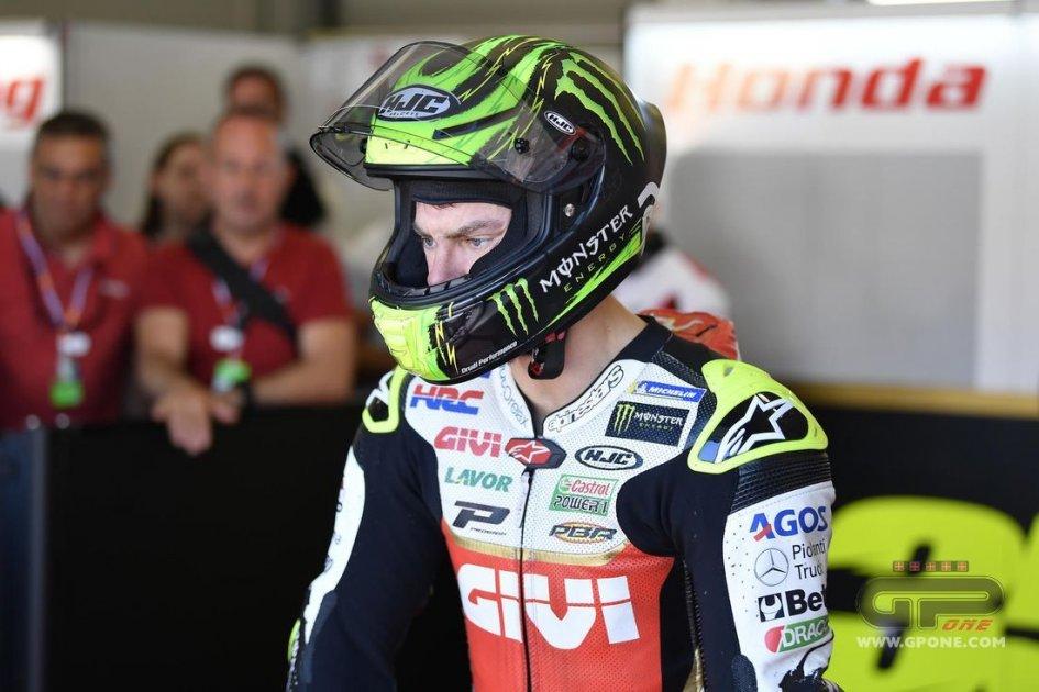 """MotoGP: Crutchlow: """"Il problema non è la gamba ma il confronto con Marquez"""""""