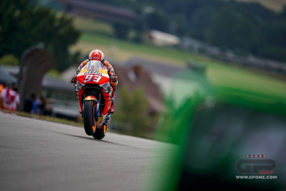 MotoGP: Sachsenring, FP3: Marquez 1°, Rossi e Dovizioso in Q1