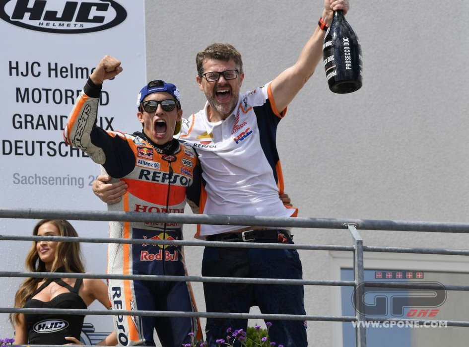 """MotoGP:  Marquez: """"Even without Lorenzo, there's no place in Honda for my brother."""""""