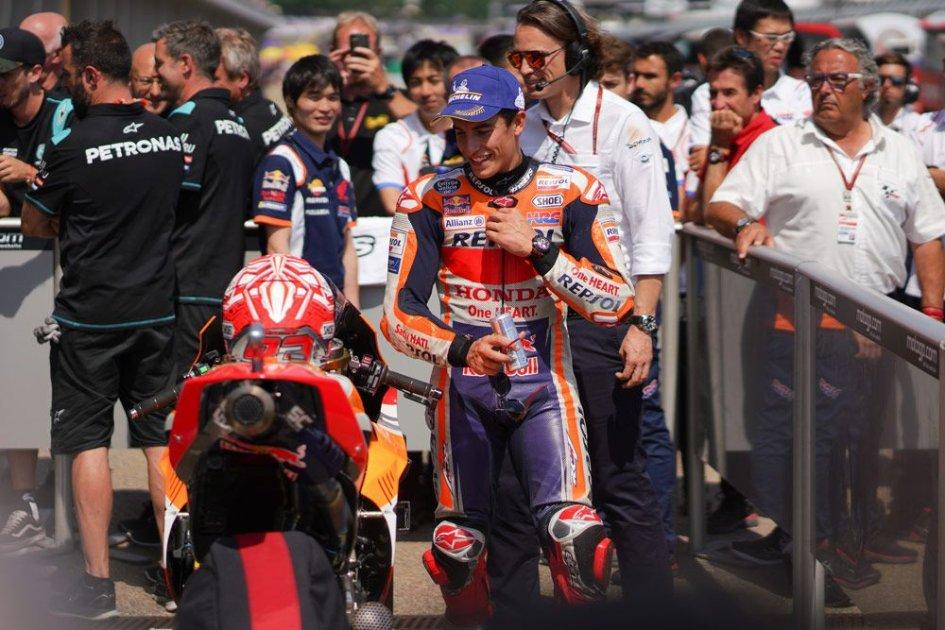 """MotoGP: Marquez: """"La 10ª vittoria? È più importante il campionato"""""""