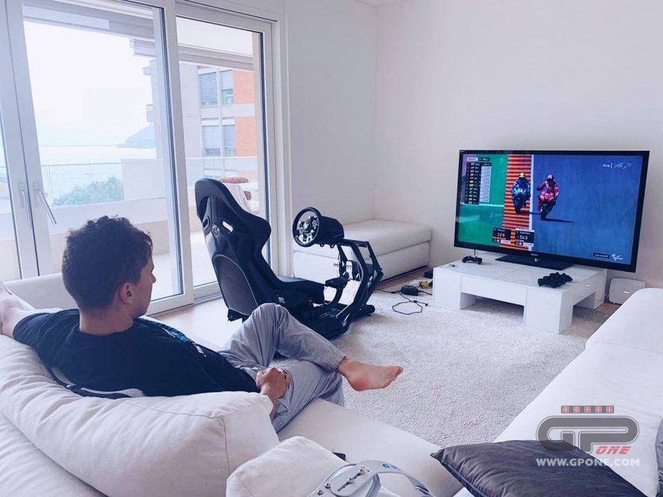 MotoGP: Lorenzo spectator of Marquez's pole on TV
