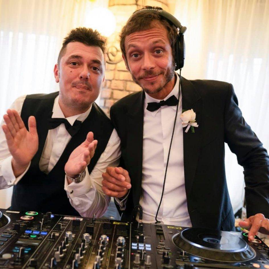 MotoGP: Valentino Rossi Deejay at Uccio's wedding