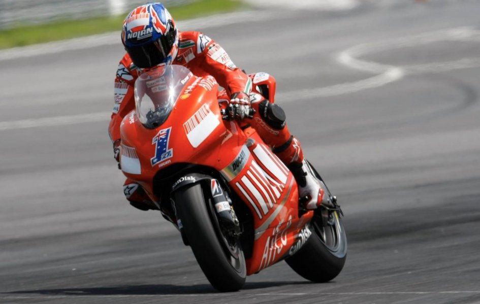 MotoGP: Dovizioso at 298.2 km/h at Sachsenring but the only victory is by Stoner