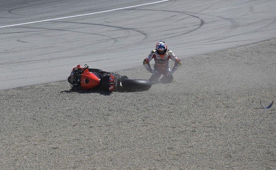 SBK: Bautista and Ducati on their knees at Laguna Seca