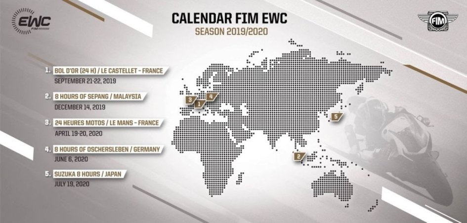 SBK: Mondiale Endurance: a dicembre il debutto della Malesia