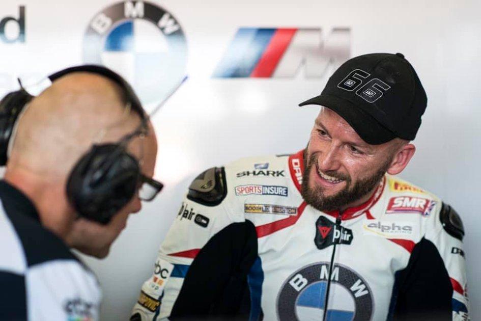 "SBK: Sykes: ""Ho pensato al podio, ma la mia BMW ha detto no"""