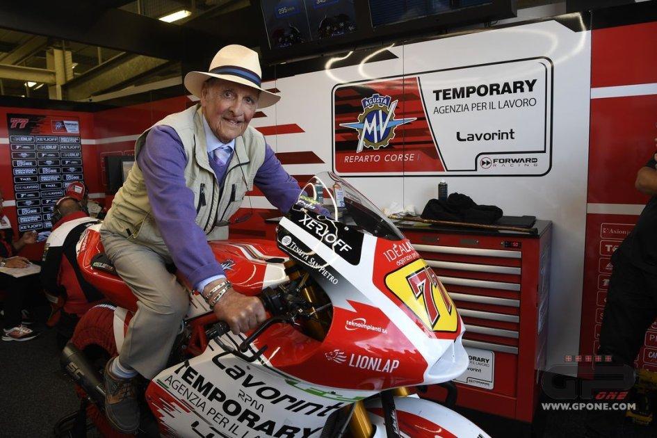 Moto2: Cecil Sandford: first champion with MV Agusta still on a bike