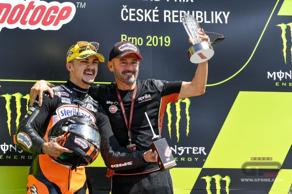 Moto3: Max Biaggi doubles up: two riders in 2020