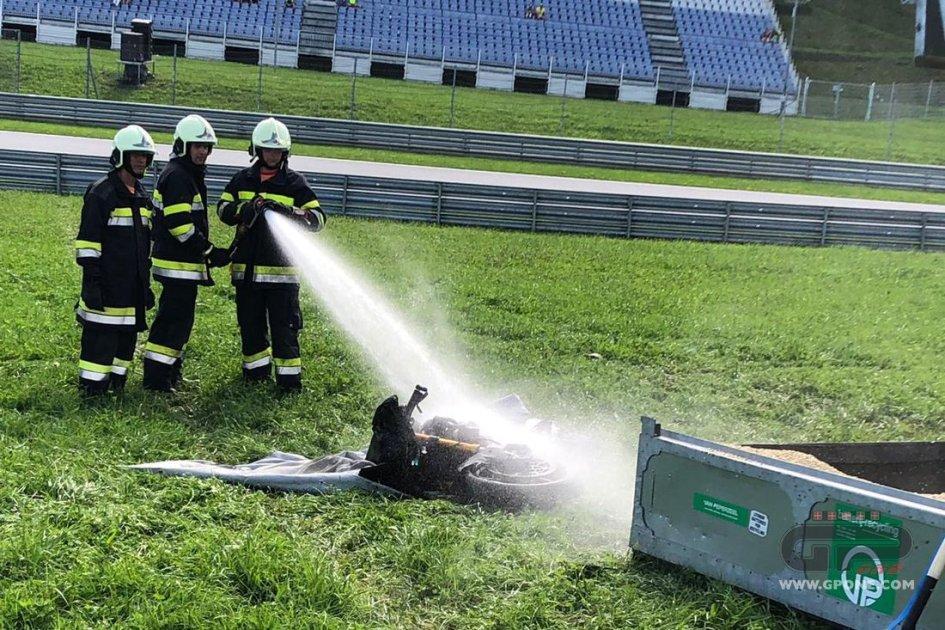 MotoE: MotoE a fuoco: le immagini dal paddock del Red Bull Ring