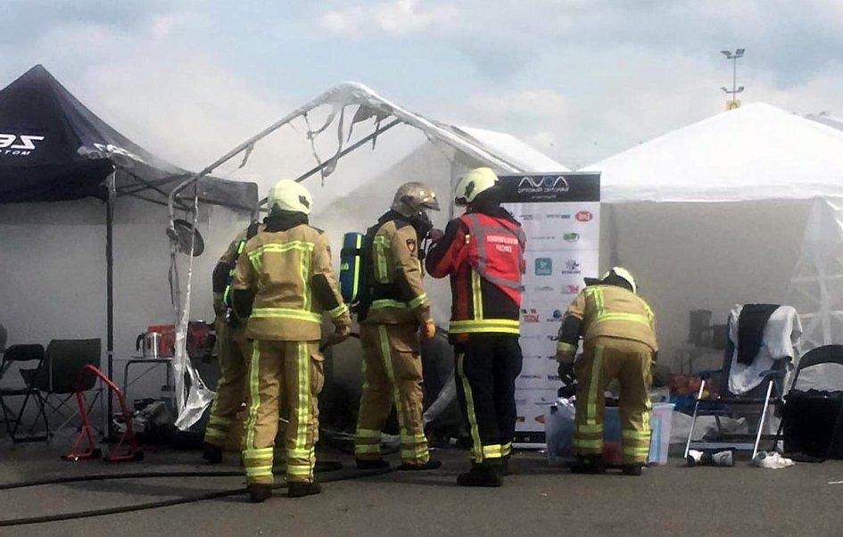 News: Moto elettrica prende fuoco ad Assen durante i GAMMA Racing Days