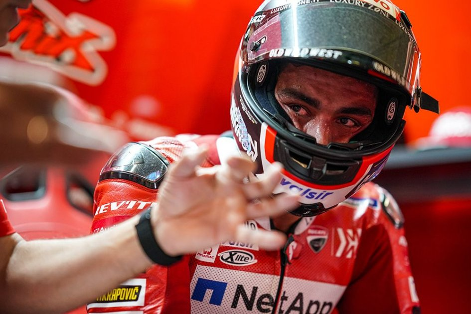 "MotoGP: Petrucci: ""Marquez? He passed with his elbow on the ground where Miller fell."""