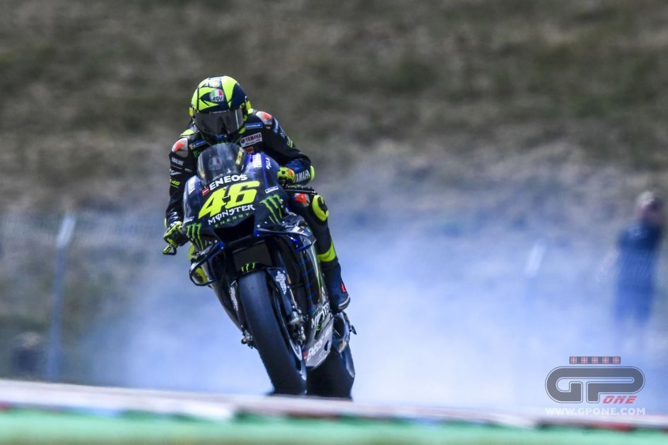 "MotoGP: Rossi: ""The engine breakdown isn't a problem, it was old"""