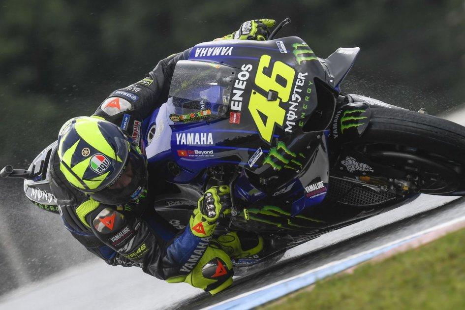 "MotoGP: Rossi: ""Marquez? In pista sempre comportato diversamente da lui"""