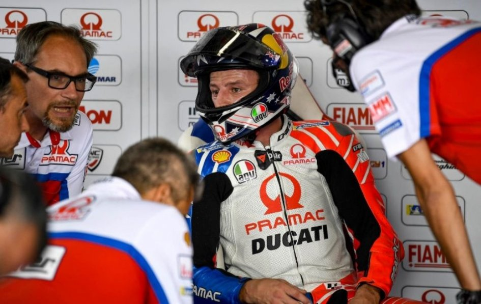 "MotoGP: Miller: ""Lorenzo in Ducati? I'm upset, not stressed. It's a business."""