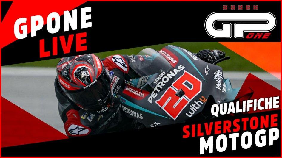 MotoGP: Silverstone, LIVE qualifiche: Marquez in pole davanti a Rossi