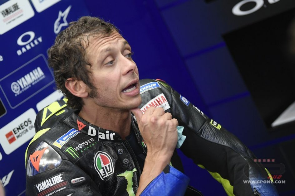"""MotoGP: Rossi back to 4th and promotes slow motion footage: """"It's more reliable."""""""