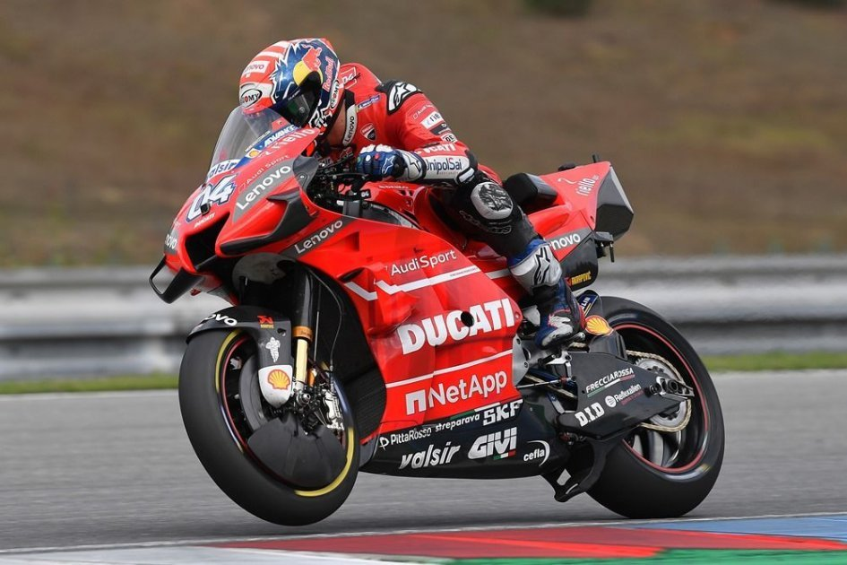 MotoGP: Ducati doesn't stop. Dovizioso: Everyone at work, even in August