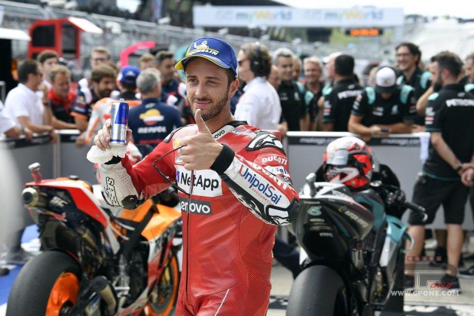 """MotoGP: Dovizioso: """"Silverstone? Non è favorevole, ma possiamo essere veloci"""""""