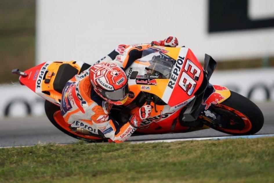 MotoGP: Marquez humiliates everyone to score Brno pole, Rossi 7th